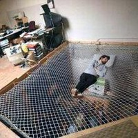 Mesh Suspended Hammock ? Funny, Bizarre, Amazing Pictures & Videos