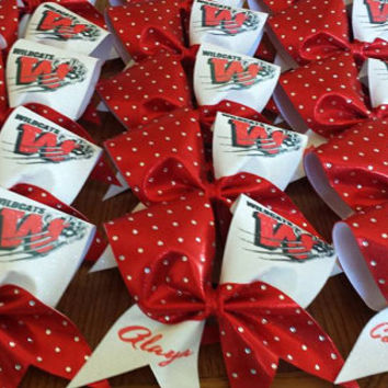 Personalized Team Cheer Bow