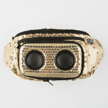 Jammypack Super Diamond Speaker Fanny Pack Gold One Size For Women 25270562101