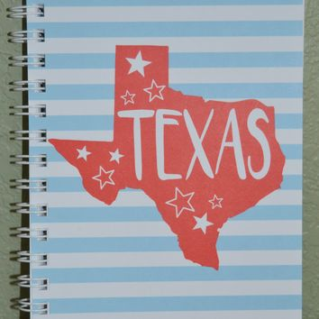 Texas Spiral Notebook
