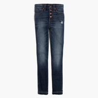 "10"" High-Rise Skinny Jeans: Drop-Hem Edition : shopmadewell high-rise skinny jeans 