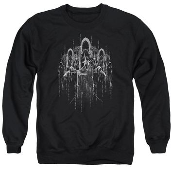 Lord Of The Rings - The Nine Adult Crewneck Sweatshirt Officially Licensed Apparel