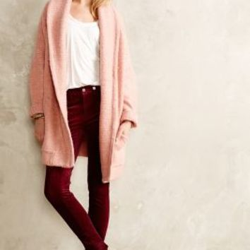 Sidon Shawl Sweatercoat by Inhabit Pink