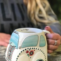 Folk Car Mug By Natural Life