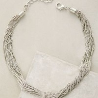 Goldbarr Knotted Mareva Necklace in Silver Size: One Size Necklaces