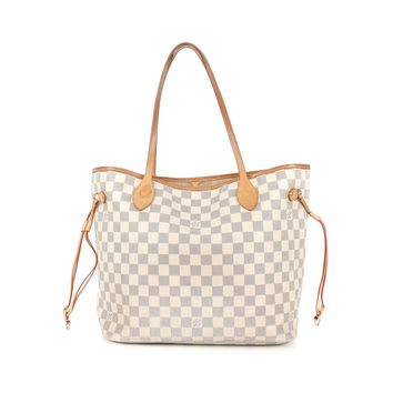 Louis Vuitton Neverfull Azur Bag