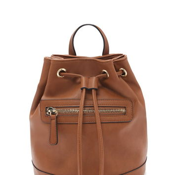 Faux Leather Backpack | Forever 21 - 1000168173
