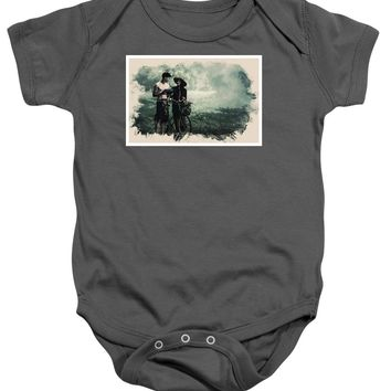 Watercolor Conseptual Landscape - Deep In The Forest - Baby Onesuit