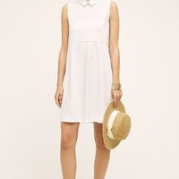 1 by O'2nd Quinn Poplin Shirtdress in White Size: