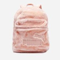 Fur Backpack Scallop Shell