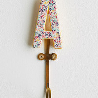 Liberty for Anthropologie Monogram Hook