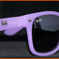 New Wayfarer Sunglasses Purple Colour NIB NWT from Eye fashion