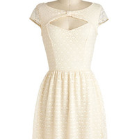 You're My Ivory Thing Dress | Mod Retro Vintage Dresses | ModCloth.com