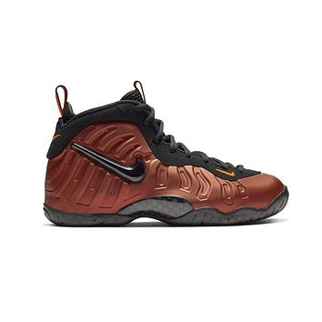 Nike Big Kids Little Posite Air Foamposite Pro Hyper Crimson 'Color Shift'