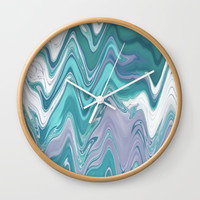 Ripple Waves Wall Clock by sm0w