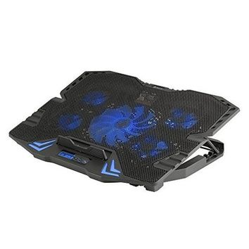 """Laptop Stand with Fan NGS GCX-400 GCX-400 17"""" LED Blue"""