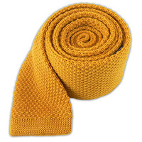 KNIT SOLID WOOL - YELLOW DAISY
