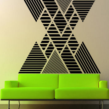 Vinyl Wall Decal Sticker Double Vision Mountains #OS_MB1248