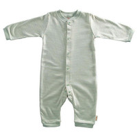 Tadpoles Neutral Organic Footless Striped Coverall