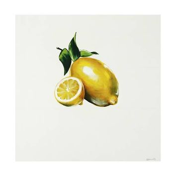 Lemon Giclee Print by Sydney Edmunds at Art.com