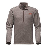 Men's Texture Cap Rock Pullover in Brunette Brown by The North Face - FINAL SALE