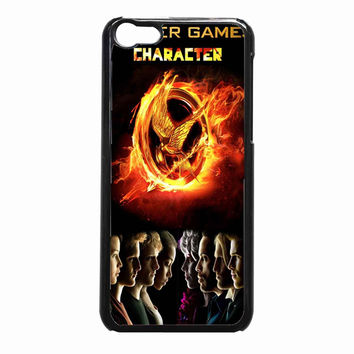 THE HUNGER GAMES 3 848b2940-3c2e-4e2b-99de-3d41ca00f820 FOR iPhone 5C CASE *NP*