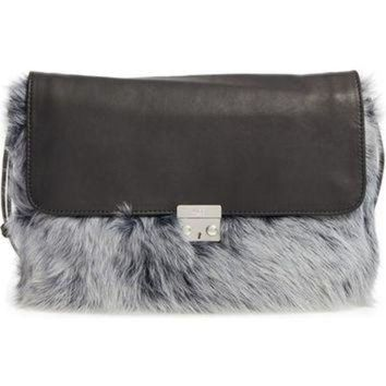 CREY1O UGG? Vivienne Genuine Shearling Convertible Clutch | Nordstrom
