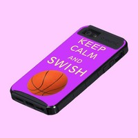 Keep Calm and Swish Skinit Cargo Phone Case from Zazzle.com