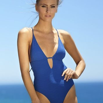 Elizabeth Jane Solstice Ivy One-Piece Swimsuit