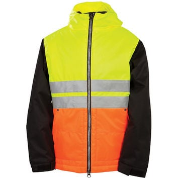 686 X Dickies Safety Insulated Jacket - Boys' Safety Yellow,