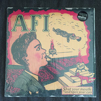 AFI - Shut Your Mouth And Open Your Eyes (Used LP) - WHITE VINYL