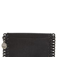 Stella McCartney Shaggy Deer Faux Leather Card Holder | Nordstrom