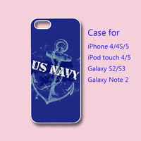 US NAVY - iPhone  case ,ipod touch case , galaxy s3 case , galaxy note 2 case
