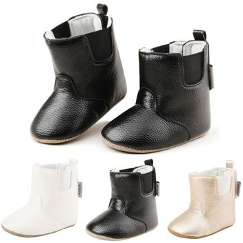 Fashion Design Winter Baby Snow Boots Baby Girls Boys Soft Booties Snow Boots Infant Toddler Newborn Warming Shoes #ES