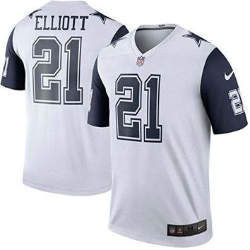 Ezekiel Elliott #21 Dallas Cowboys Nike Xc2 Color Rush Legend Jersey