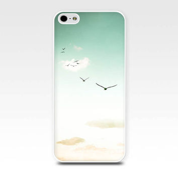 birds flying iphone case 5s birds iphone 6 case sunset iphone case 4s sky clouds iphone 4 case nature iphone 5 case photography mint cream