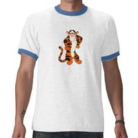 Stubborn Tigger Shirts from Zazzle.com