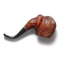 "Exclusive Pipe, Author Tobacco Pipe, Smoking Pipe/Pipes Collection Tobacco Wooden Pipe. Handcrafted ""MAMMOTH"" Limited Edition"