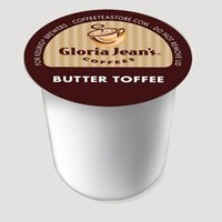 Gloria Jeans K-Cup Butter Toffee Coffee K-Cup 18 K-cups