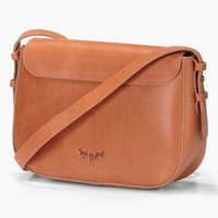 Crafted Leather Saddle Bag