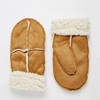 New Look Faux Shearling Mitten