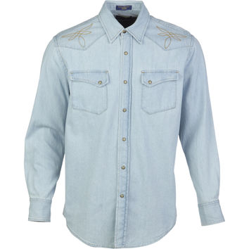 Pendleton Gambler Denim Shirt - Long-Sleeve - Men's Denim,