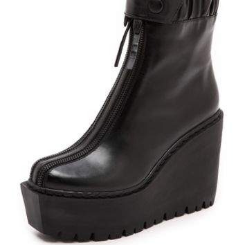 Opening Ceremony Luna Double Zip Boots
