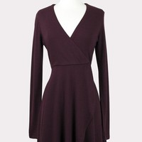Melanie Faux Wrap Dress