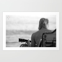 Acoustic Sessions Art Print by Derek Delacroix
