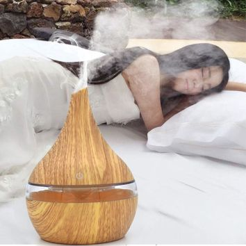 Air Aroma Oil Diffuser with LED Ultrasonic Humidifier