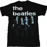 The Beatles Run For Your Life Adult Black T-Shirt - The Beatles - | TV Store Online