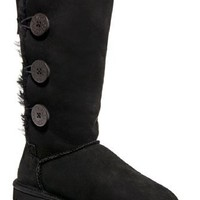 UGG Australia Bailey Button Triplet Tall Flat Boot