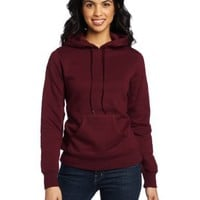 Russell Athletic Women's Dri-Power Fleece Pullover Hoodie, Maroon, Medium