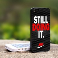Nike Still Doing it - For iPhone 4,4S Black Case Cover